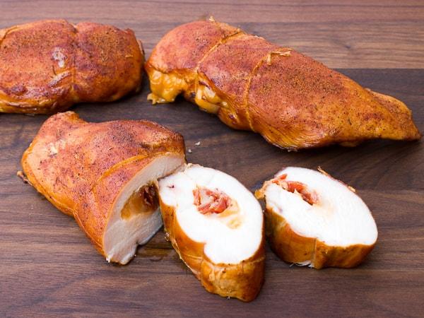 breast smoking chicken
