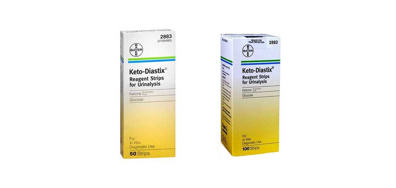for bayer blood urine strips test