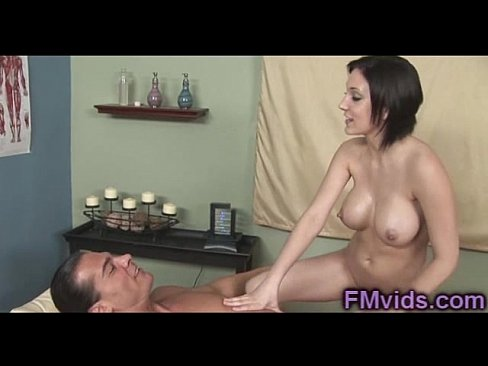 xxx massage brunette