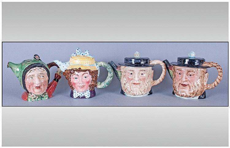 vintage character teapots pics of