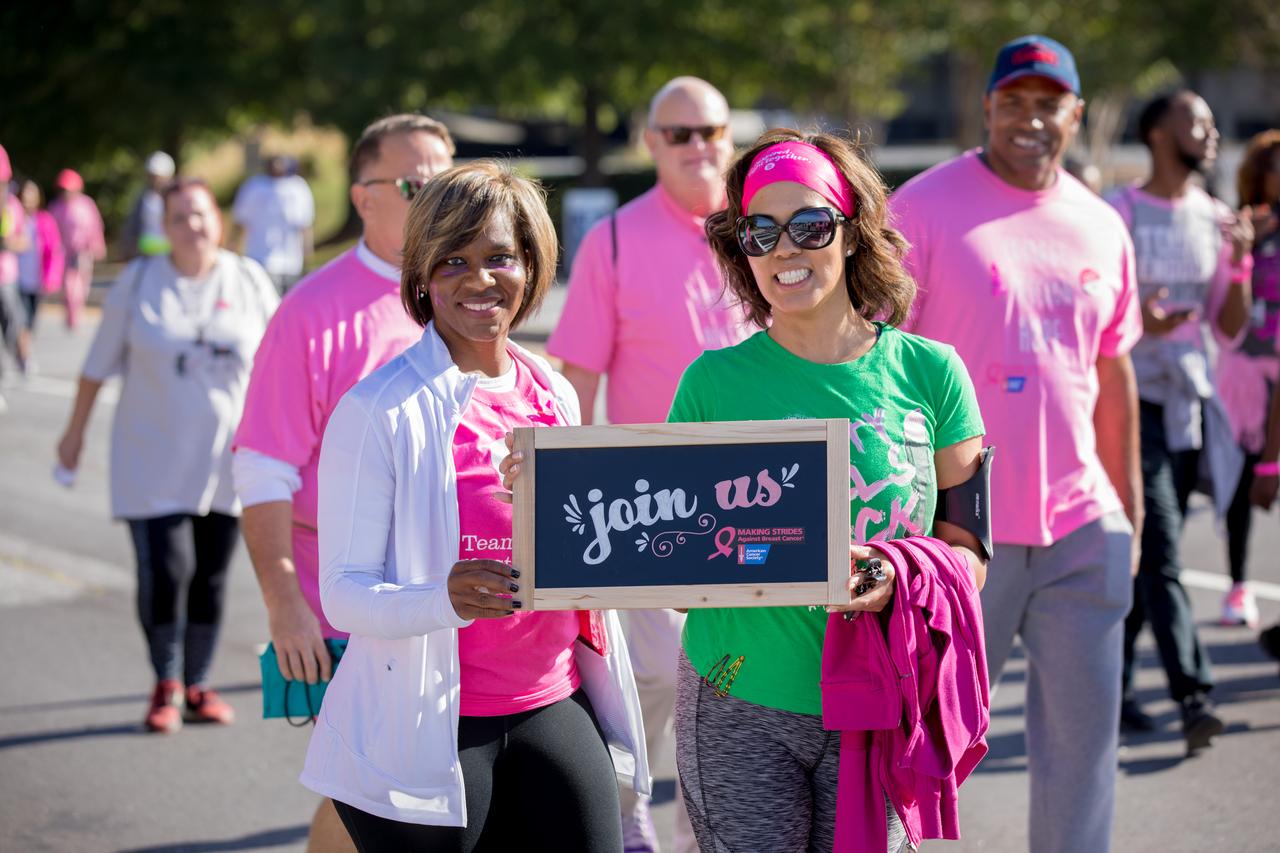 strides breast against making cancer boston