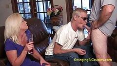 bisexual couple swingers