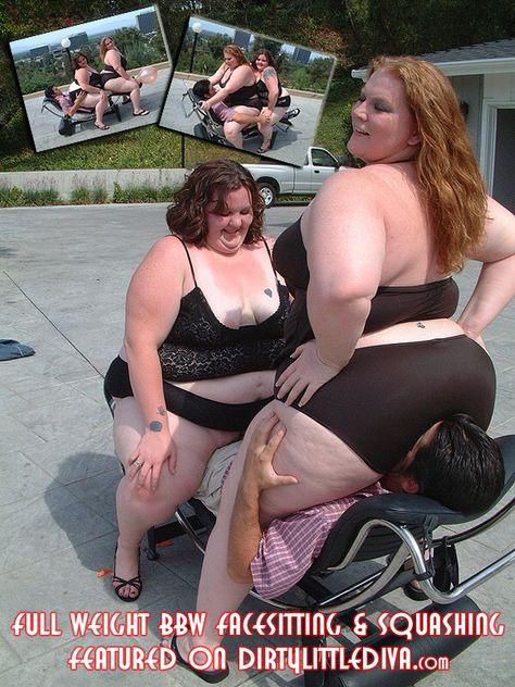 full weight bbw squashing
