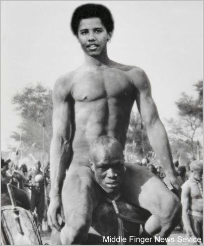 Naked obama Michelle Obama