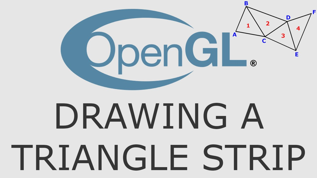 opengl triangle strip