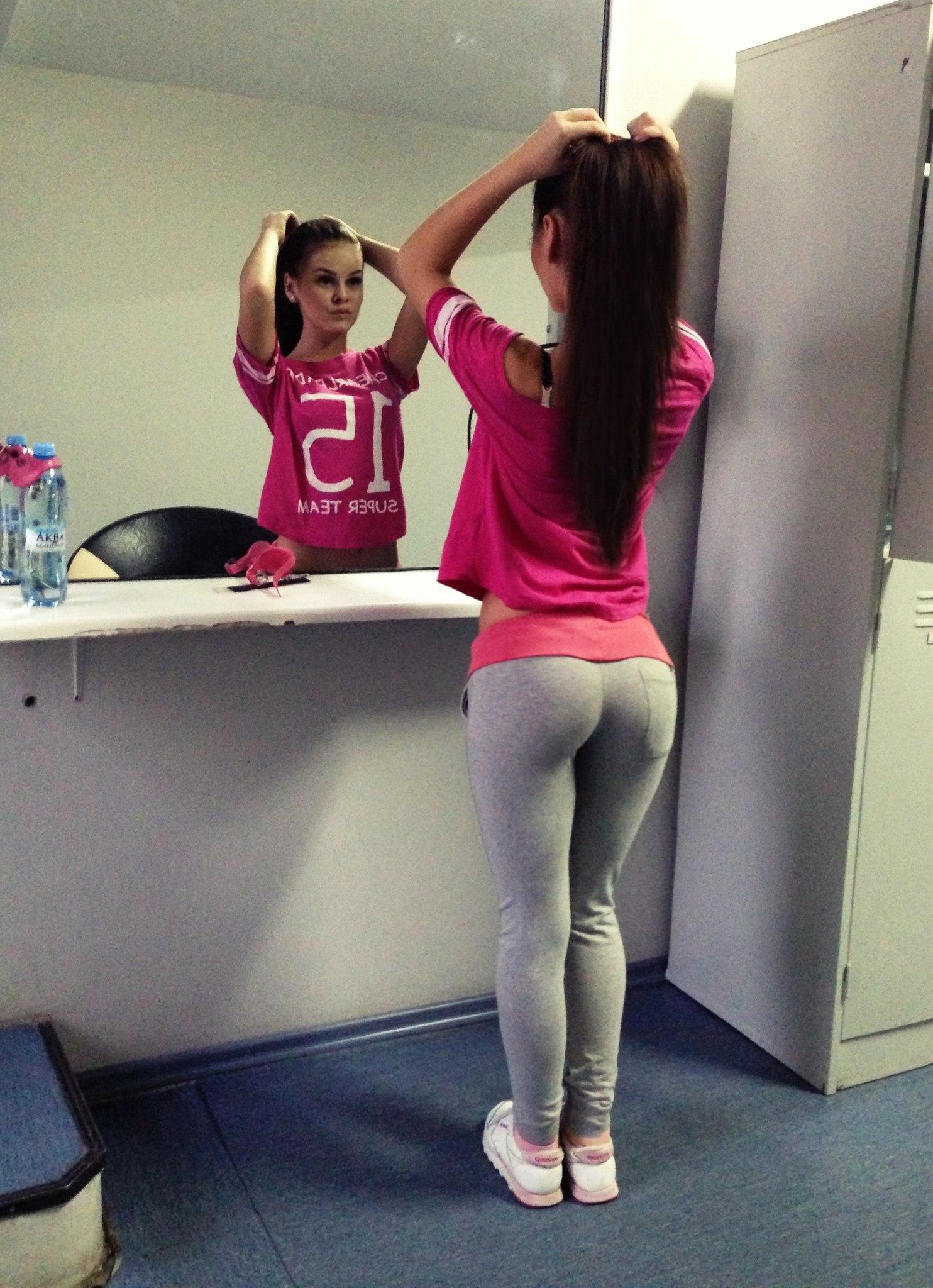college girls pants in yoga