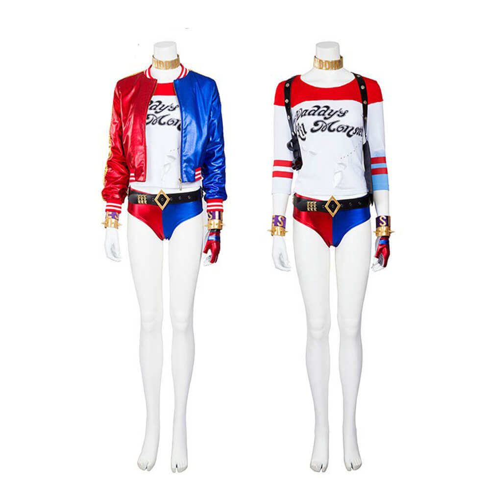 harley quinn suicide squad cosplay costume