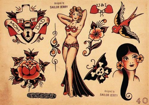 tattoo asian up pin