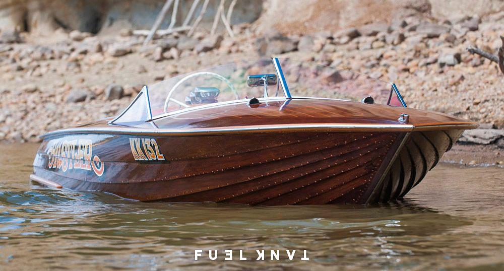 photo boat vintage racing