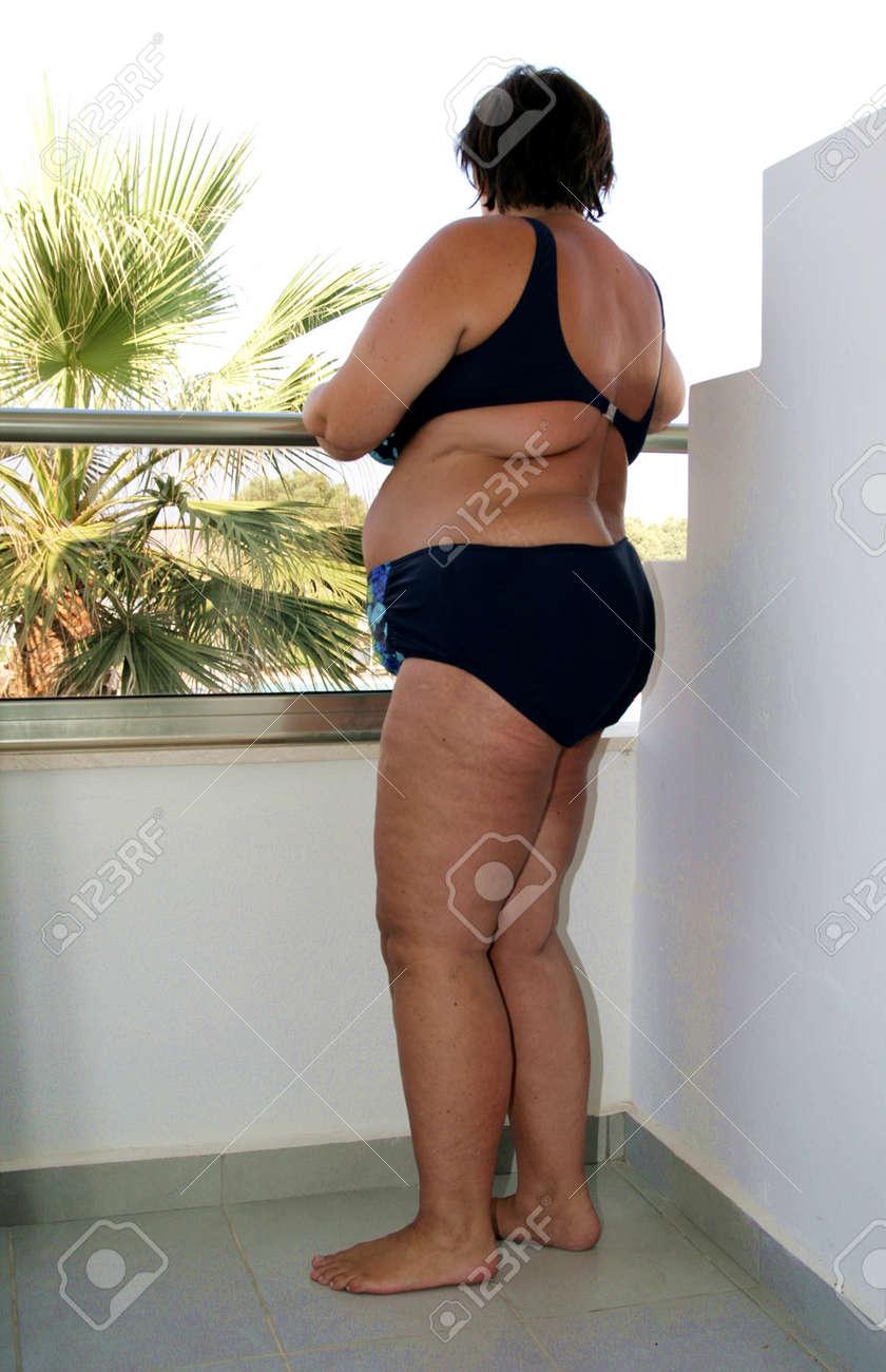 obese mature women