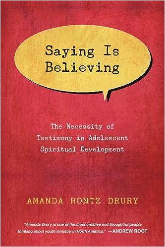 teaching teens growth about spiritual