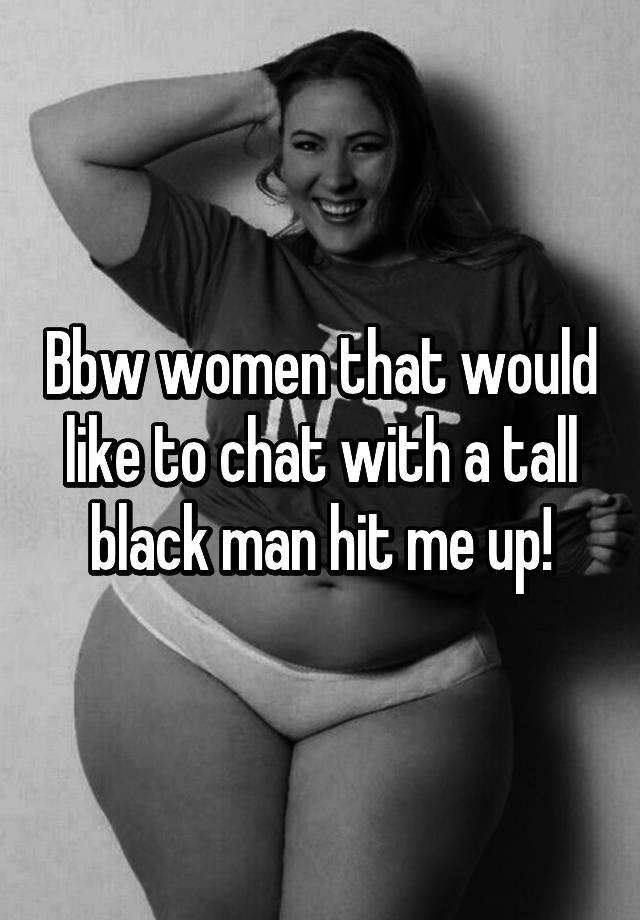 ebony bbw chat