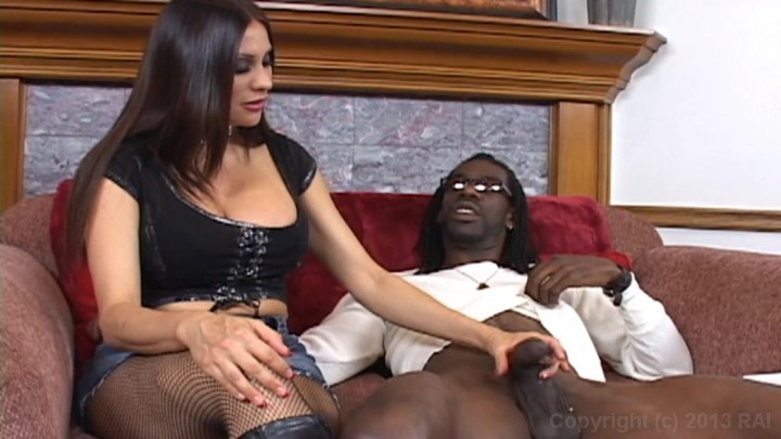 black cock craves big milf