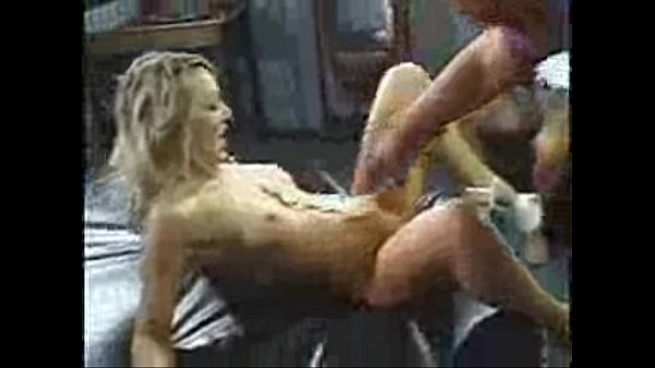 at stripper fucked gets party