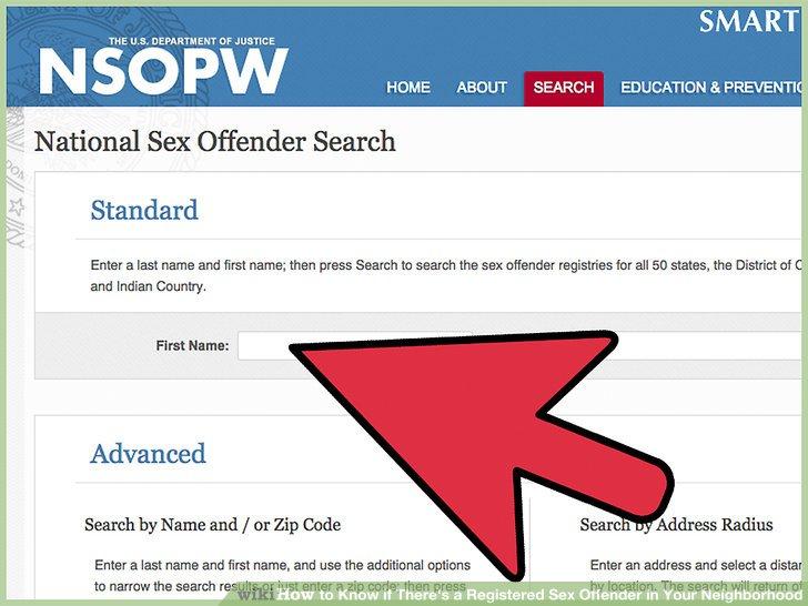 registered database sex offenders of