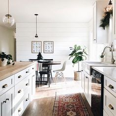 modern kitchen vintage