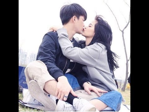 korean love couple making