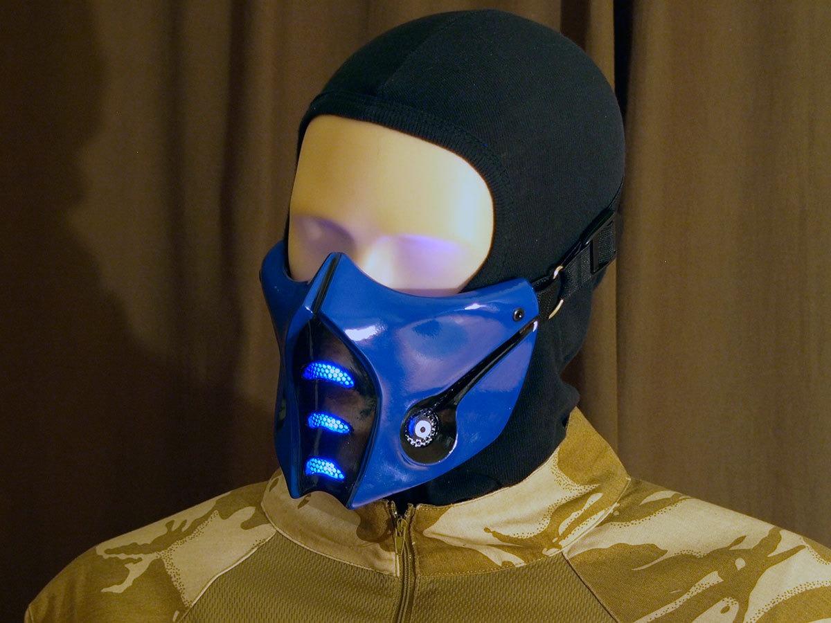 cosplay sub zero mask