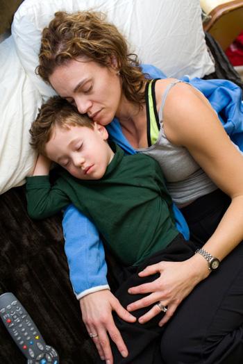 sleep for mom