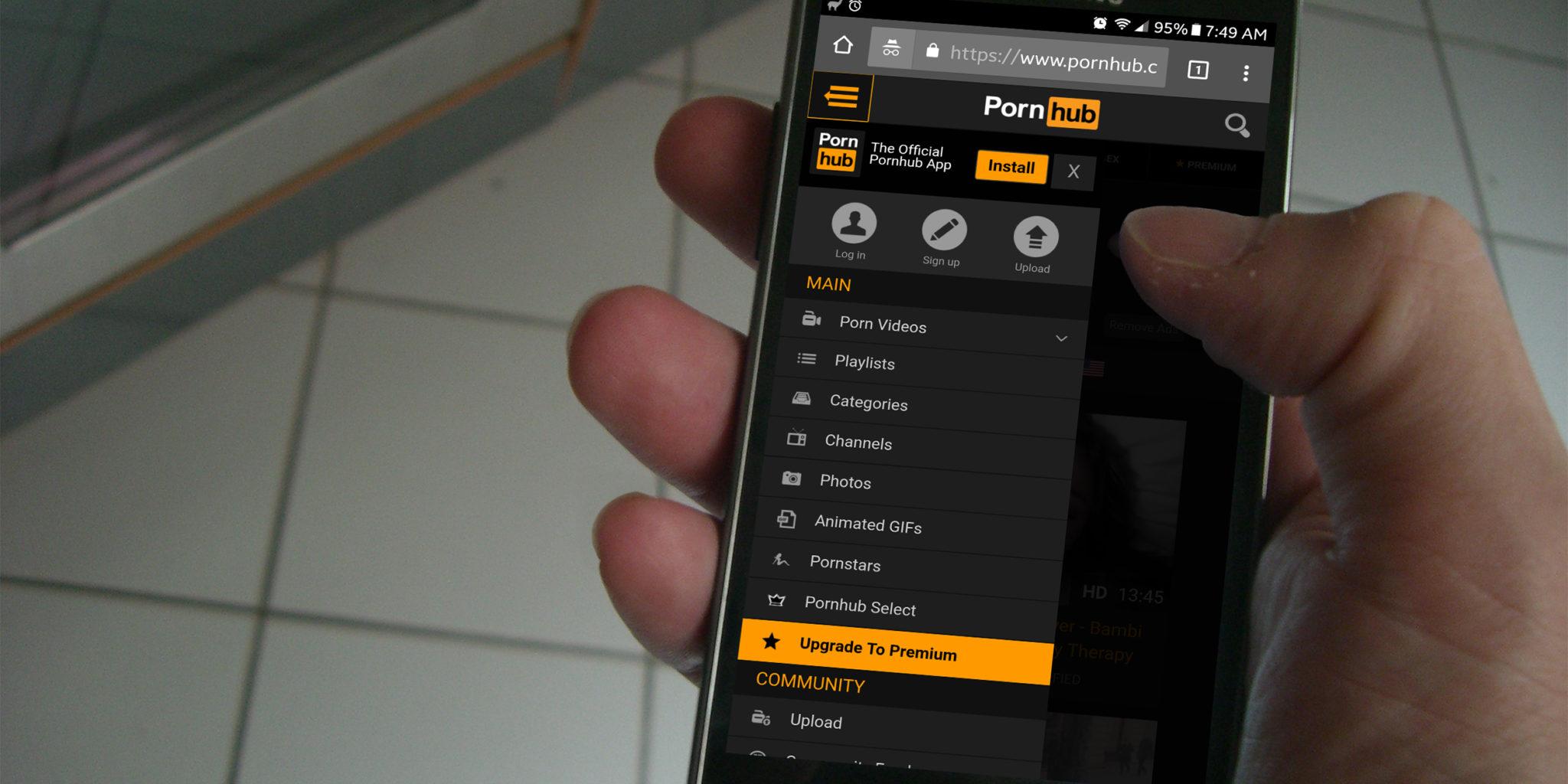 websites phone mobile porn